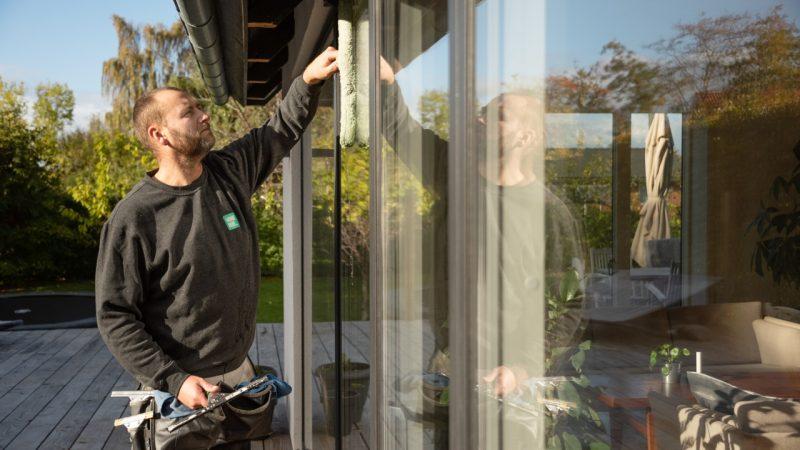 Vi pudser dine vinduer