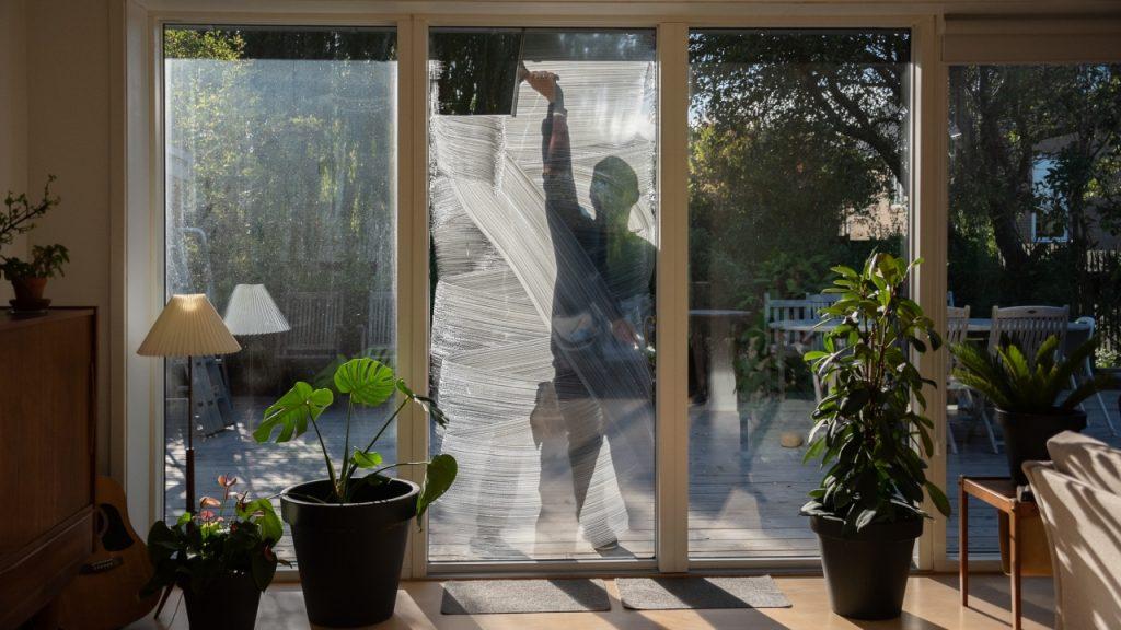 Somme tider er der behov for både indvendig og udvendig vinduespudsning