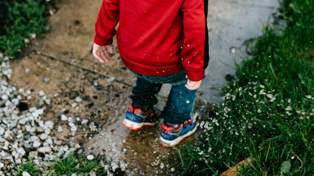 Hækklipning i regnvejr er måske ikke den bedste ide